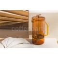 Yield Design Amber Glass 850ml Coffee French Press
